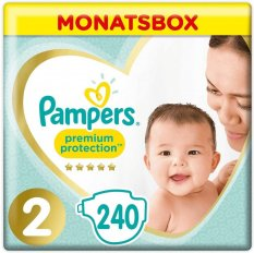 Pampers Premium Protection S2 - 240 ks