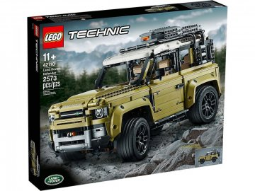 Nové LEGO Technic 42110 Land Rover Defender